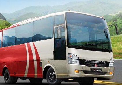 harga bus mitsubishi terbaru