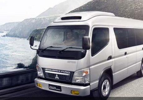 mitsubishi colt diesel minibus